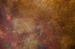 Оранжево-желтая медная поверхностная текстура конца-вверх Стоковое Фото