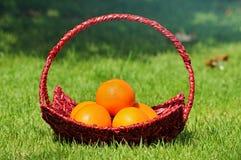 Оранжевые зрелые корзины Стоковое Изображение