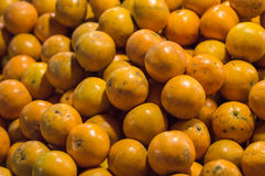 Оранжевые красочные обои и предпосылка текстуры Стоковая Фотография
