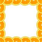 Оранжевые куски в предпосылке рамки Стоковые Фотографии RF