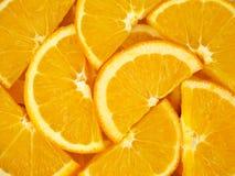 Оранжевые куски как текстура предпосылки Стоковые Фотографии RF