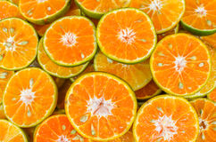 Оранжевые куски Стоковые Изображения