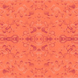 Оранжевые обои безшовные Стоковое Изображение RF