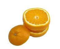 Оранжевые дольки Стоковая Фотография