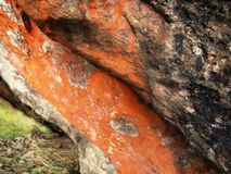 Оранжевые скалы Стоковое Фото