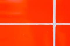 Оранжевые стены Стоковые Фото