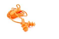 Оранжевый беруш Стоковое Изображение
