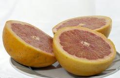 Оранжевый грейпфрут Стоковые Изображения