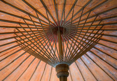 Оранжевый зонтик стоковые фото