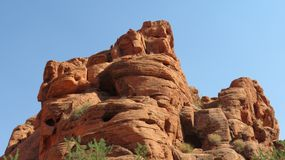 Оранжевый каньон стоковое фото