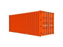 Оранжевый контейнер моря бесплатная иллюстрация