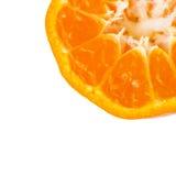 Оранжевый крупный план Стоковые Фото