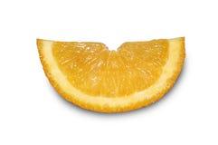 Оранжевый кусок Стоковое Фото