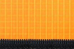 Оранжевый материал ткани нейлона, прочных и прочных для оборудования, сумок, рюкзаков, шатров и одежды стоковое изображение rf
