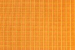 Оранжевый материал ткани нейлона, прочных и прочных для оборудования, сумок, рюкзаков, шатров и одежды стоковые изображения rf