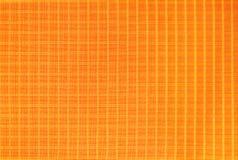 Оранжевый материал ткани нейлона, прочных и прочных для оборудования, сумок, рюкзаков, шатров и одежды стоковая фотография