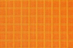 Оранжевый материал ткани нейлона, прочных и прочных для оборудования, сумок, рюкзаков, шатров и одежды стоковое фото