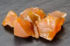 Оранжевый опал Стоковое Изображение RF