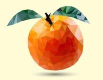 Оранжевый плодоовощ, дизайн эскиза Стоковое Фото