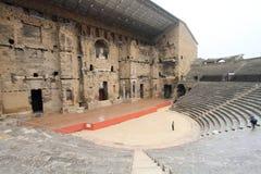 Оранжевый старый театр стоковое изображение rf