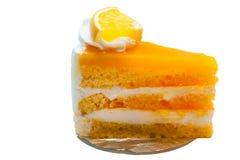 Оранжевый торт Стоковые Фото