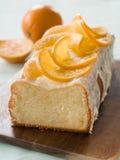 Оранжевый торт стоковые изображения