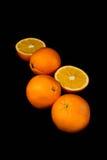 Оранжевый тропик плодоовощ, макрос витамина, еда, десерт, помадка, сок Стоковые Изображения RF