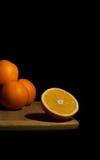 Оранжевый тропик плодоовощ, макрос витамина, еда, десерт, помадка, сок Стоковые Фотографии RF