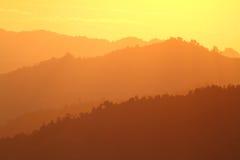 Оранжевый холм Стоковая Фотография