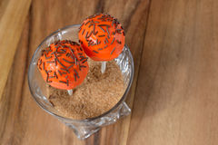 2 оранжевых шипучки торта Стоковые Фото