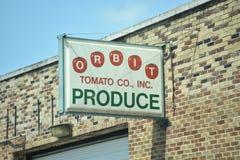 Орбита Томат Корпорация, Мемфис, TN стоковое фото rf