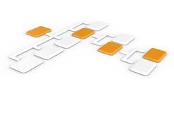 организация диаграммы Стоковая Фотография