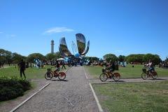 Организация Объединенных Наций паркует в Буэносе-Айрес ареальных стоковые изображения rf