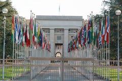 Организация Объединенных Наций в Женеве Стоковое фото RF
