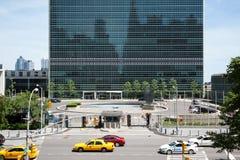 Организация Объединенных Наций строя в Нью-Йорке стоковое фото rf