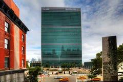 Организация Объединенных Наций строя в Нью-Йорке стоковые изображения rf