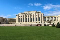 Организация Организации Объединенных Наций geneva Швейцария стоковое изображение
