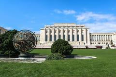 Организация Организации Объединенных Наций geneva Швейцария стоковое фото