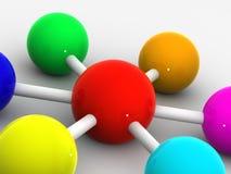 организация разнообразности иллюстрация вектора