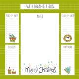 Организация рождественской вечеринки Стоковые Фотографии RF