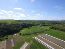 Органическая ферма Новая Англия Стоковые Изображения
