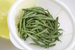 Органические зеленые фасоли Стоковые Фотографии RF