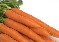 Органические моркови стоковые изображения