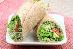 органические обручи сандвича Стоковые Изображения RF