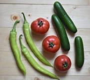 органические овощи Стоковое Изображение