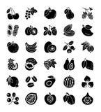 Органические плодоовощи, ягоды & гайки Еда Vegan & вегетарианца Здорово бесплатная иллюстрация