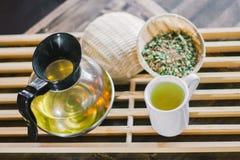 Органический горячий тайский травяной чай Стоковые Фотографии RF