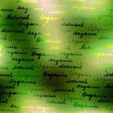 Органический и естественный Стоковое Изображение