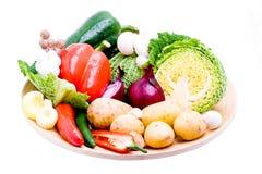 органический овощ выбора Стоковое Изображение RF