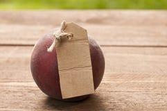 органический персик Стоковые Изображения